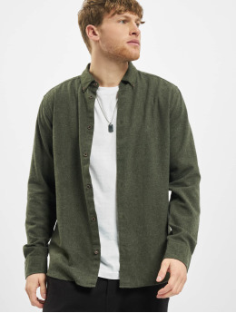 Only & Sons Shirt onsEdin Flannel Twill green