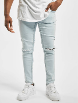 Only & Sons Skinny Jeans onsWarp Knee Cut blue