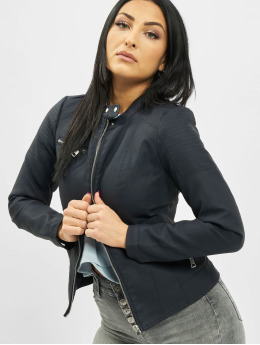 Only Leather Jacket onlMelanie blue