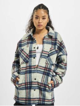 Only Lightweight Jacket onlJoan-Lou Check Shacket gray