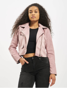 Only Lightweight Jacket onlSherry Crop purple