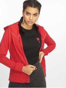 Only Zip Hoodie onlMarbella red