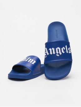 Palm Angels Sandals Pool  blue