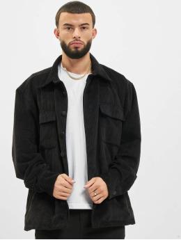 PEGADOR Shirt Corduroy Oversized black