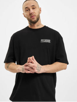 PEGADOR T-Shirt Mum Oversized black