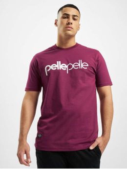 Pelle Pelle T-Shirt Back 2 The Basics red
