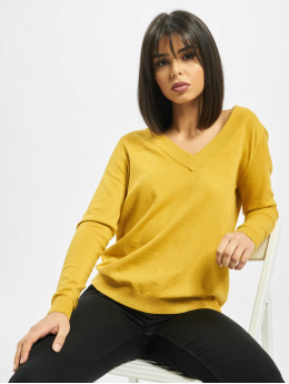 Pieces Pullover pcKalissa  yellow