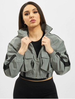 Project X Paris Lightweight Jacket Oversize Pockets gray