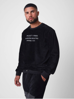 Project X Paris Pullover Loose Corduroy black