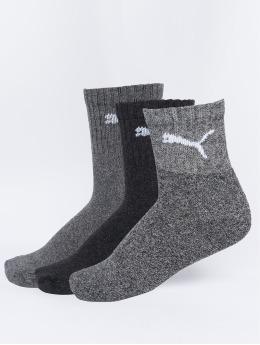 Puma Dobotex Socks Short Crew 3P Unisex gray