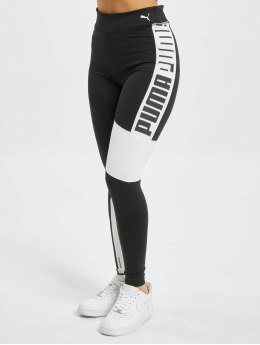 Puma Leggings/Treggings Train Favorite Logo High Waist 78 black