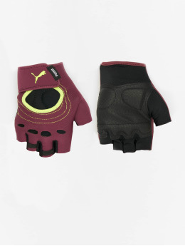 Puma Performance Sports Gloves At Shift red
