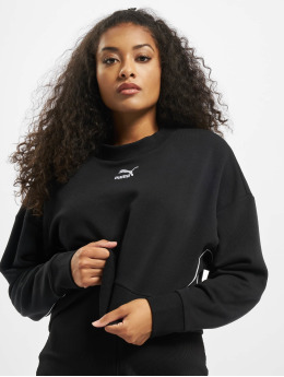 Puma Pullover Cropped  black
