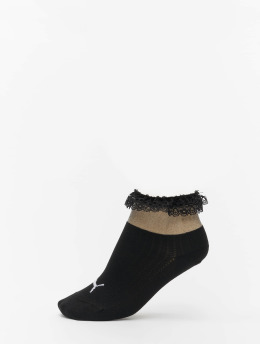 Puma Socks Selena Gomez Ruffle Short  black