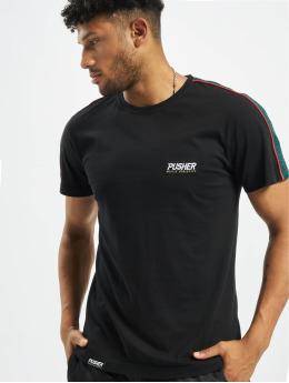 Pusher Apparel T-Shirt Hustle Small Logo black