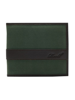 Reell Jeans Wallet Canvas Leather olive