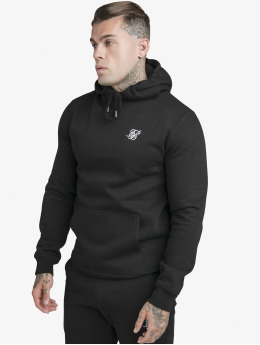 Sik Silk Hoodie Muscle Fit Overhead black