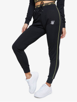 Sik Silk Sweat Pant Roma Tape black