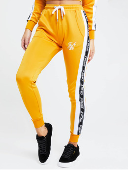 Sik Silk Sweat Pant 90s Panel Poly yellow
