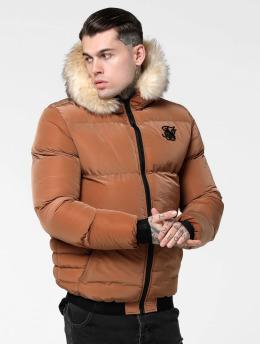 Sik Silk Winter Jacket Distance  brown