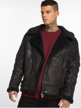 Sixth June Leather Jacket Regular Perfecto black
