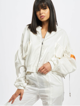 Sixth June Lightweight Jacket Satin  white