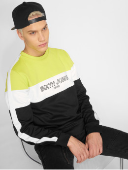 Sixth June Pullover Tricolor black