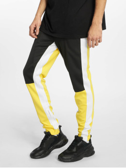 Sixth June Sweat Pant Color Block yellow