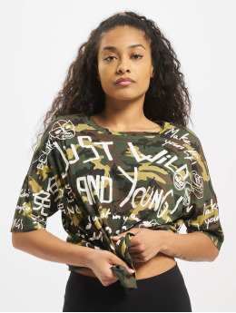 Sixth June T-Shirt Just Wild camouflage