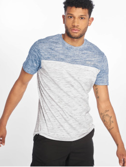 Southpole T-Shirt Color Block Tech blue