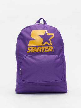 Starter Backpack Logo  purple