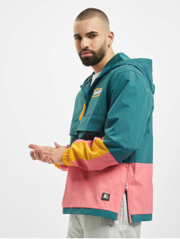 Starter Lightweight Jacket Multicolored Logo green