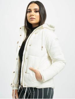 Stitch & Soul Puffer Jacket Cataleya  white