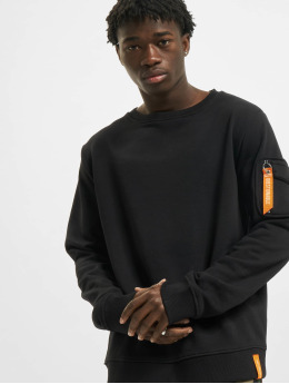 Stitch & Soul Pullover Questionable  black