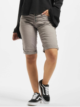 Stitch & Soul Short 5-Pocket Bermuda gray