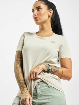 Stitch & Soul T-Shirt Hearted beige