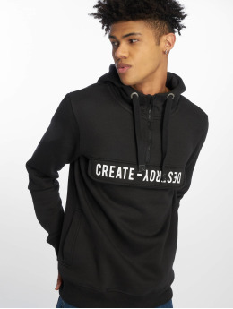 Sublevel Hoodie Create Destroy black