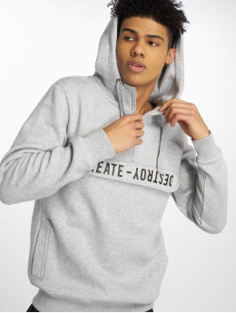 Sublevel Hoodie Create Destroy gray