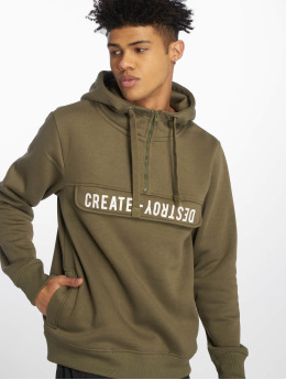 Sublevel Hoodie Create Destroy olive