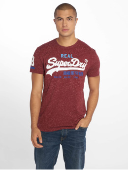 Superdry T-Shirt Vintage red