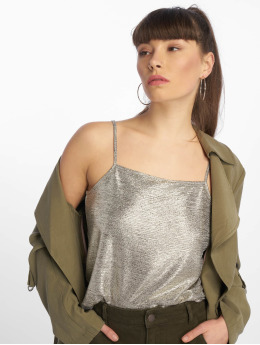 Tally Weijl Top Metallic gold