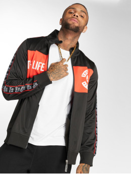 Thug Life Lux Trackjacket Black