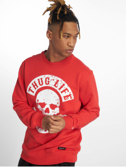 Thug Life Pullover Kuza red