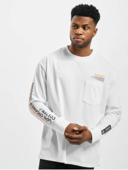Timberland Longsleeve NNH Statm Print white