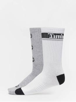 Timberland Socks Logo Pattern 2 Pack gray