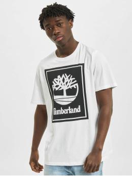 Timberland T-Shirt Yc Stack Logo white