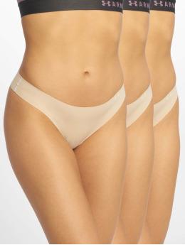 Under Armour Compression Underwear PS 3 Pack beige