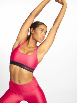 Under Armour Sports Bra Mid Crossback  pink