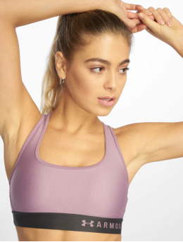 Under Armour Sports Bra Mid Crossback purple