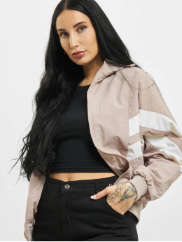 Urban Classics Lightweight Jacket Crinkle Batwing rose